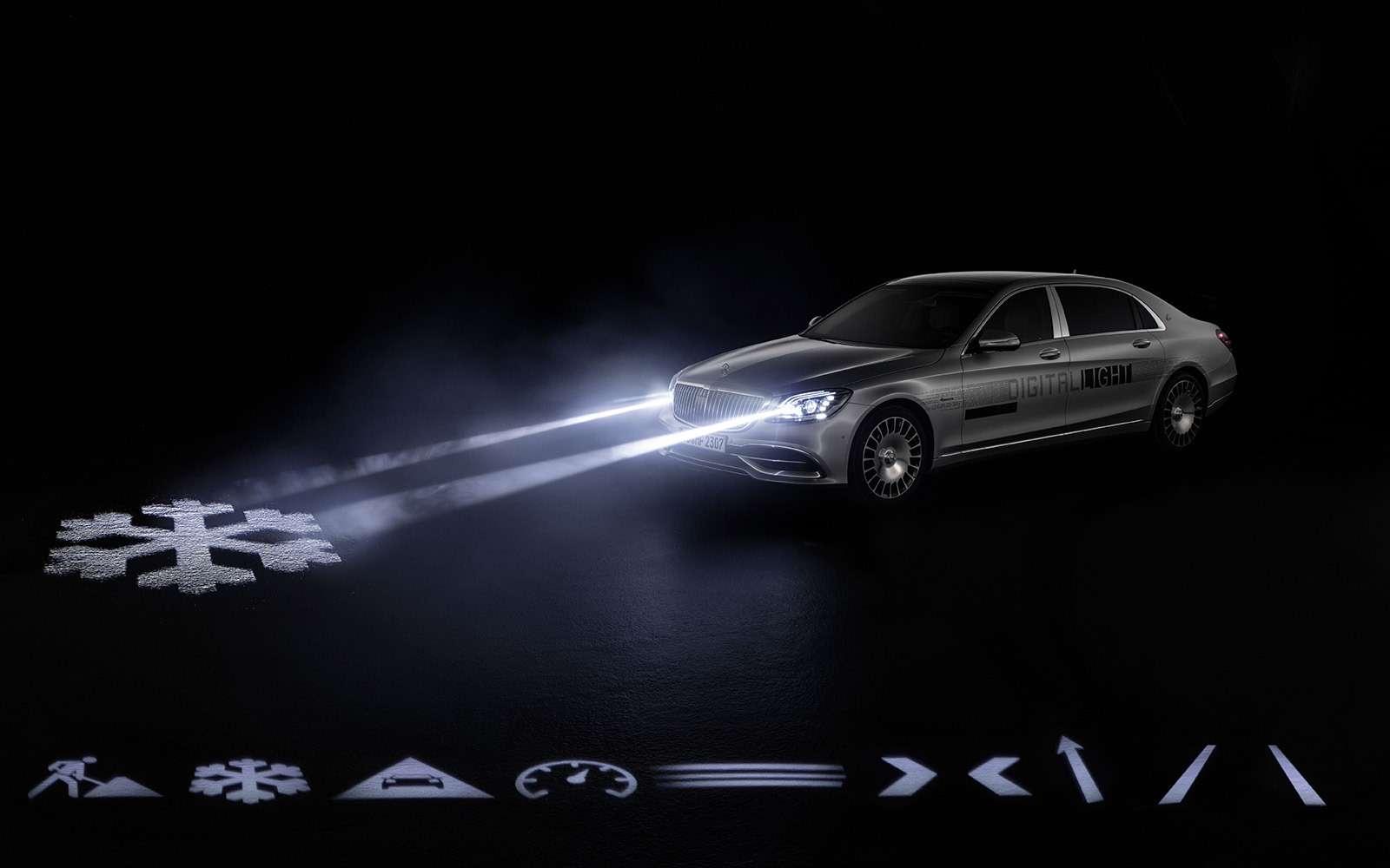«Ярисую наасфальте»: Mercedes-Maybach представил уникальные фары— фото 851503