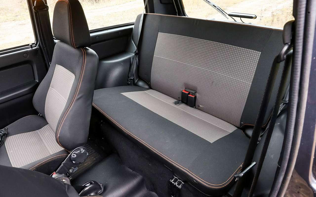 Тест-драйв легенд бездорожья: Lada 4x4, Suzuki Jimny, Jeep Wrangler— фото 1089442