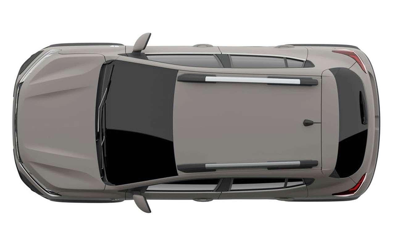 Renault запатентовала вРоссии Sandero Stеpway 3-го поколения— фото 1220911