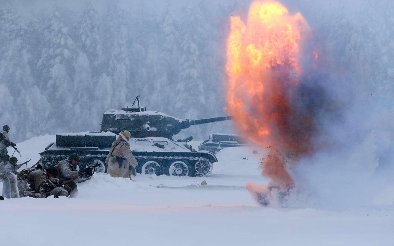 Какпоставить надыбы советский танк Т-34и другие интересные факты онем— фото 924163