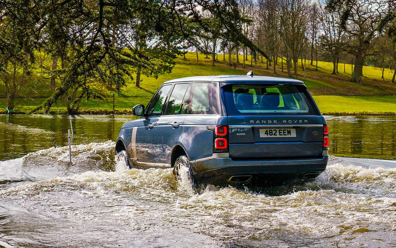 Range Rover PHEV иRange Rover Sport SVR: что общего?— фото 870402