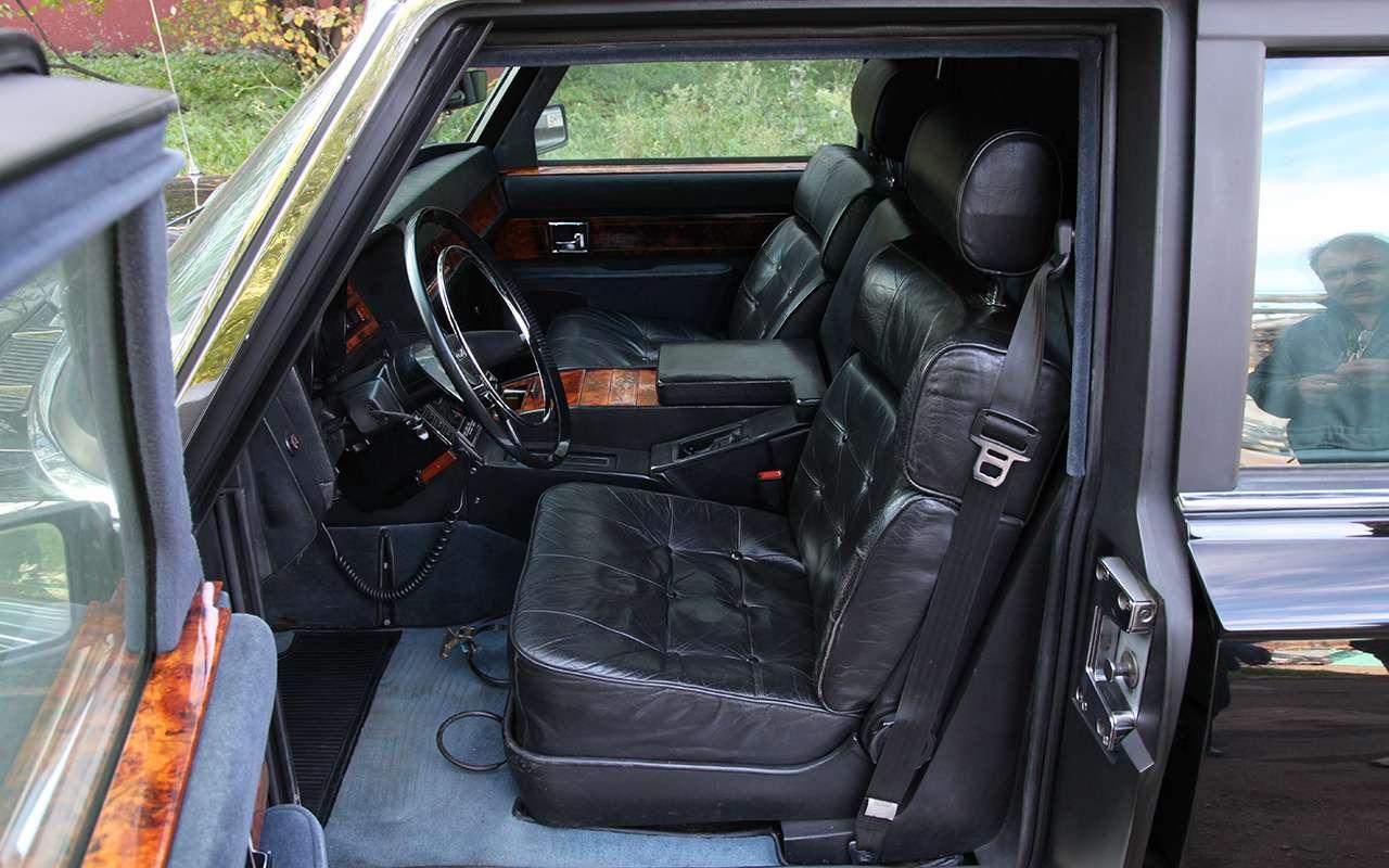 Бронированный лимузин Горбачева иЕльцина— как его строили— фото 1144864