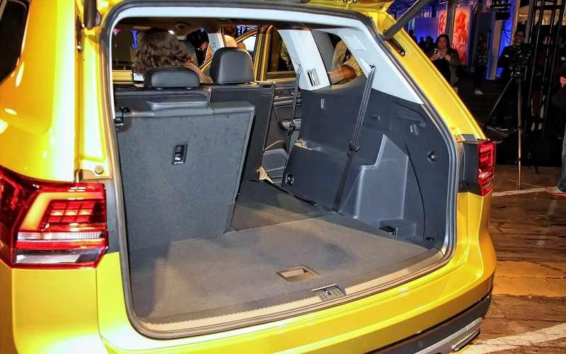 Багажник Volkswagen Atlas