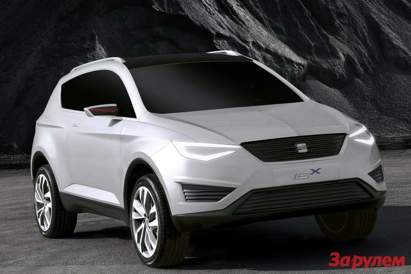 SEAT IBX Concept side-front view