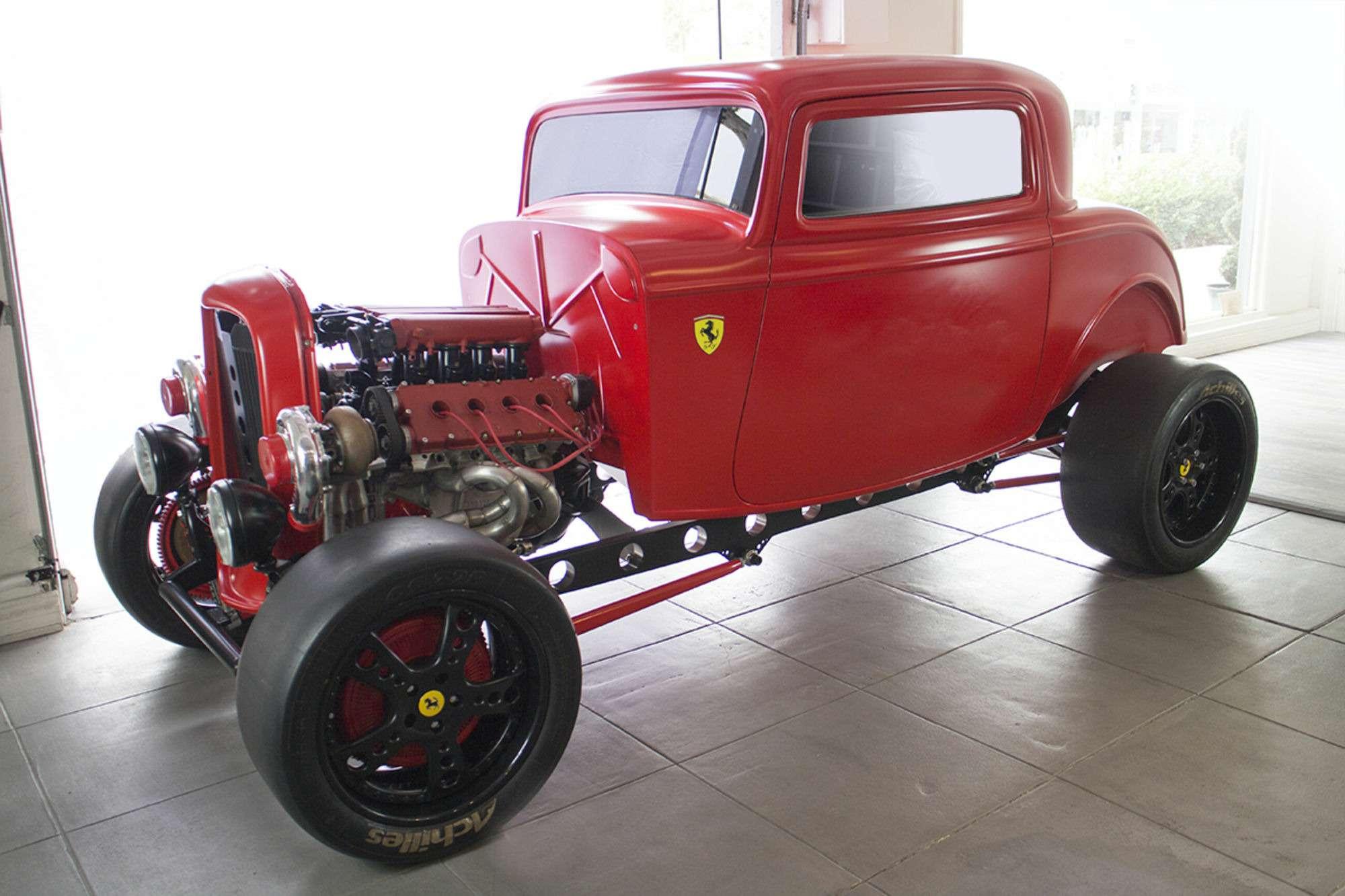 i2MrbpMFNG04wVFV014iOg - Энцо перевернулсябы вгробу: Ford 1932 года сдвигателем Ferrari
