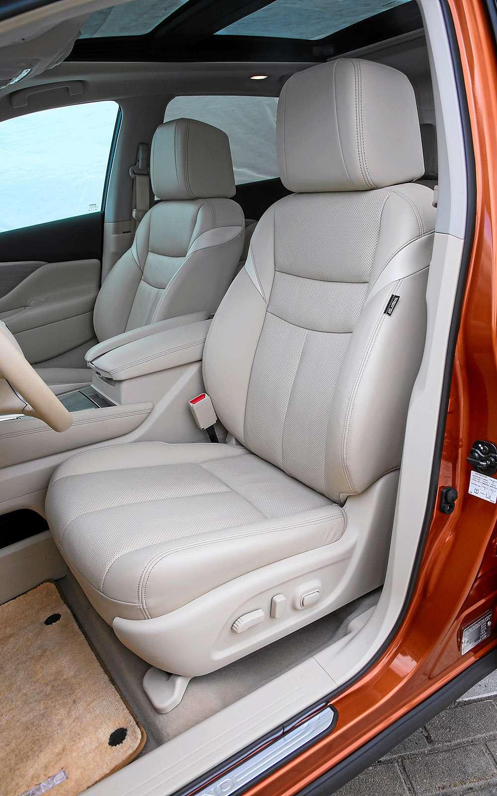 Новый Nissan Murano против конкурентов: длинные рубли— фото 691684