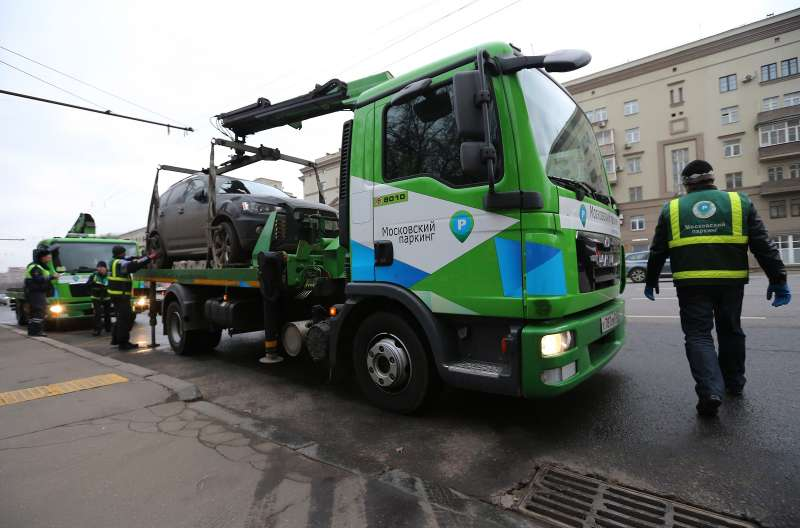 В Москве появятся уполномоченные поштрафам запарковку