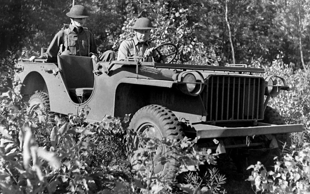 Самый популярный автомобиль войны: все факты оWillys MB— фото 972665