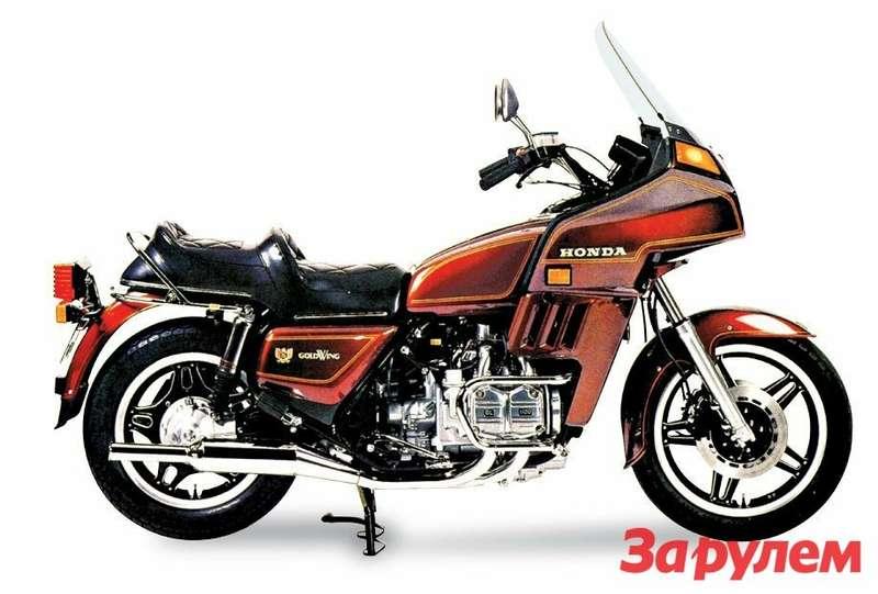 Honda Gold Wing Interstate 1981 года— первый шаг напути превращения мотоцикла влюкс-турер.