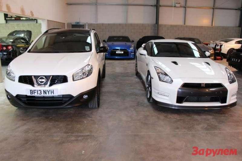 Nissan Qashqai+2R