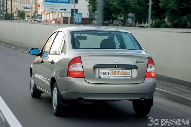 Тест Lada Kalina, Renault Logan, Chevrolet Aveo. Кому наРуси хорошо?— фото 57674