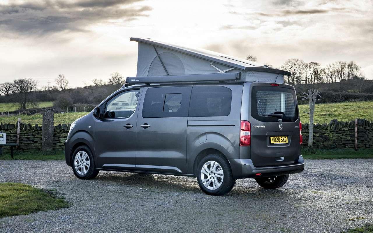 У Opel, Peugeot иCitroen появится кемпер?— фото 1211575