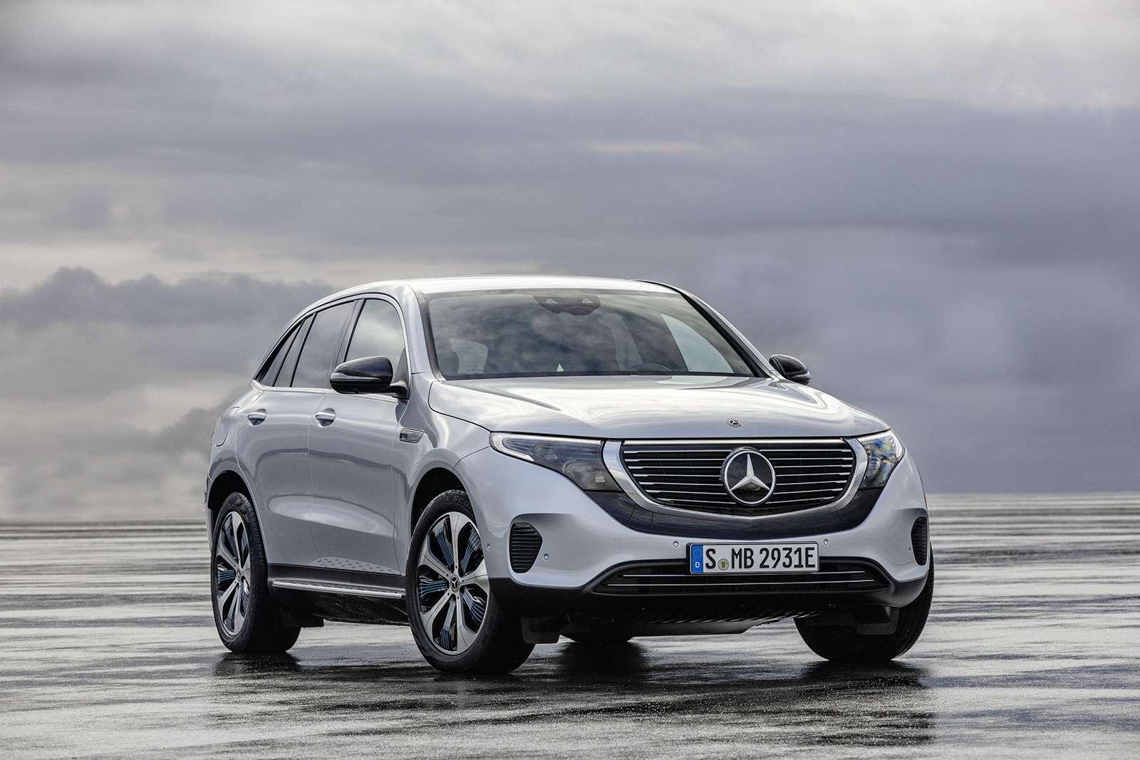 Электрический Mercedes-Benz EQC: два мотора и450 километров назарядке— фото 902234
