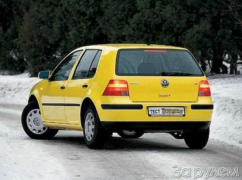 ТЕСТ Alfa Romeo 147, Peugeot 307, Volkswagen Golf. ОДНОКЛАССНИКИ РАЗНЫХ ШКОЛ— фото 27676