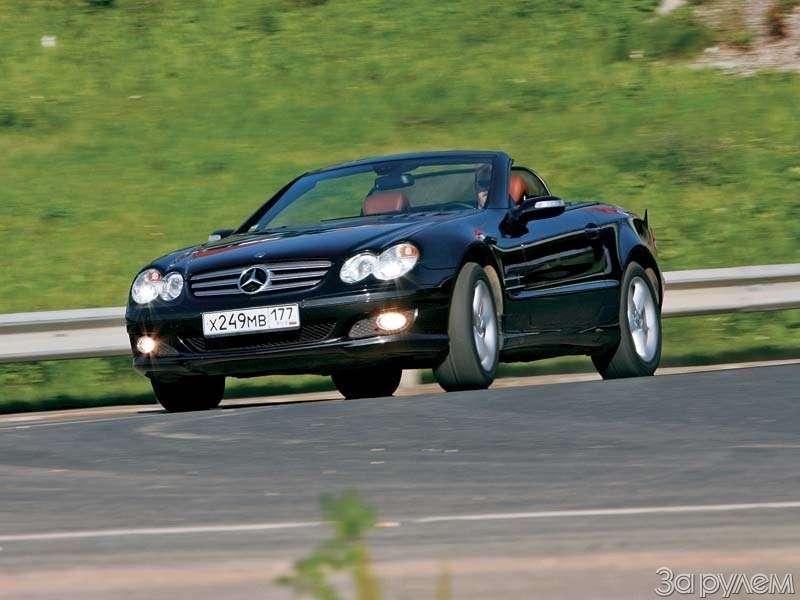 Тест Mercedes-Benz SL500. ЧТО МОГУТ КОРОЛИ— фото 68930