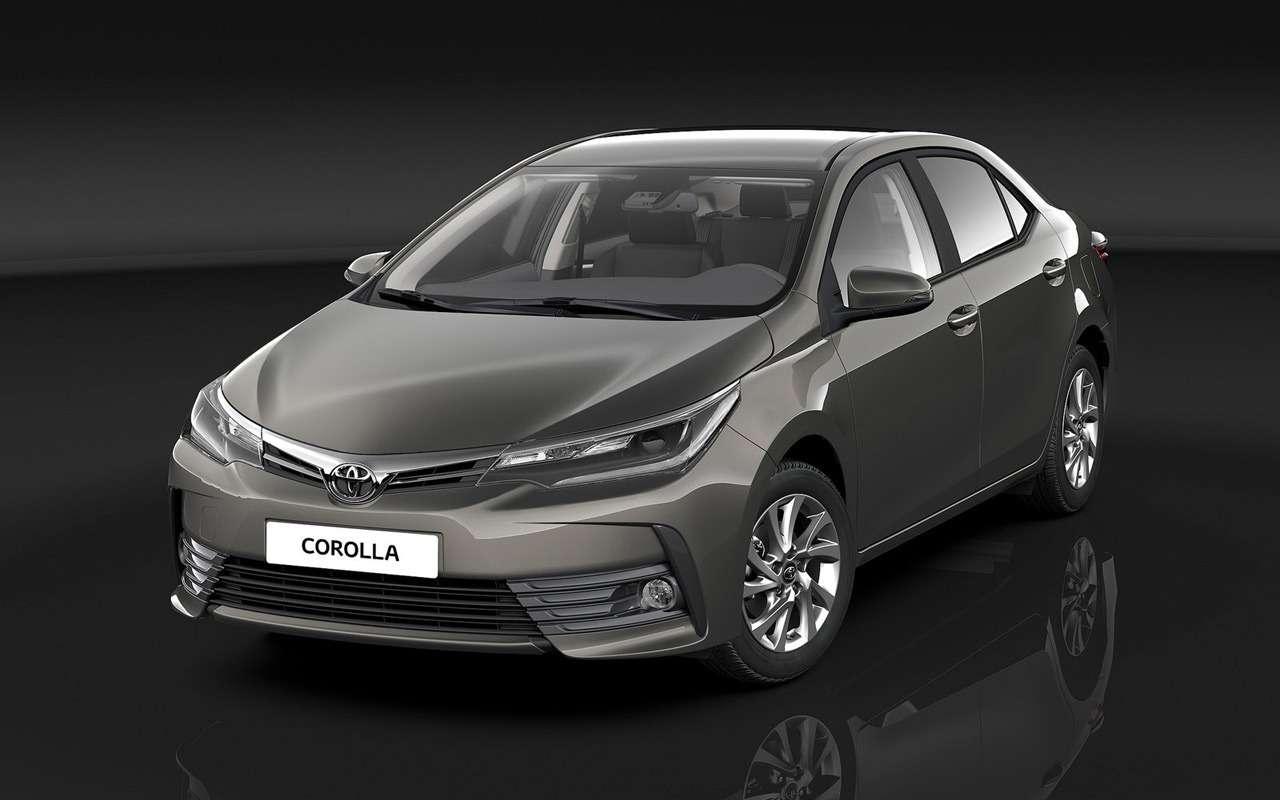 Новая Toyota Corolla: ищем отличия отпредшественницы— фото 924462