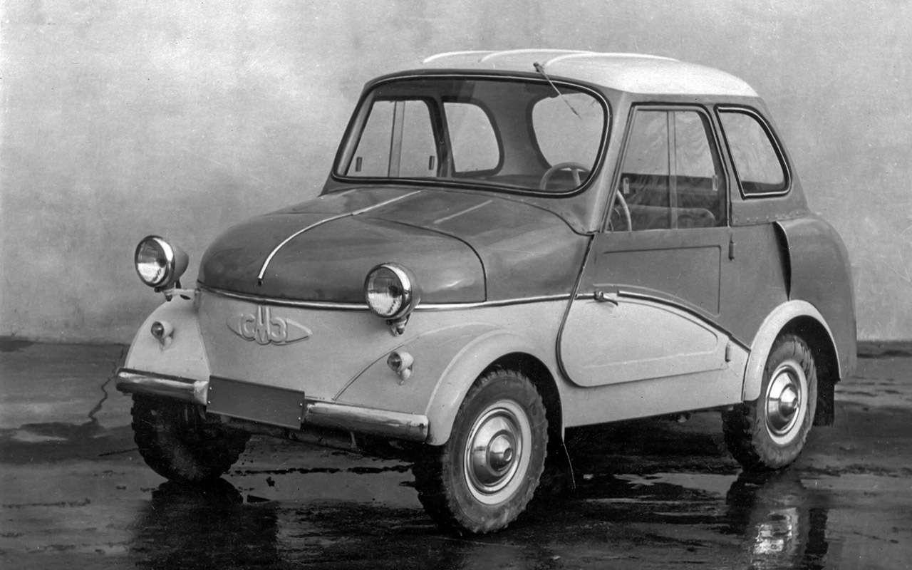 Народные автомобили СССР: вот кто был доЗапорожца!— фото 1253120