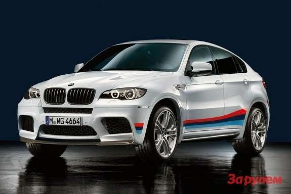 BMW X6 M side-front view