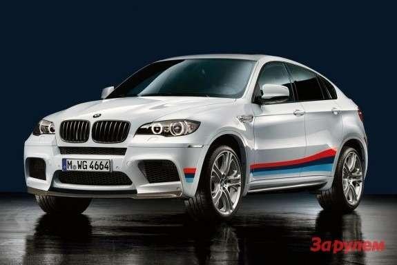 BMWX6M side-front view