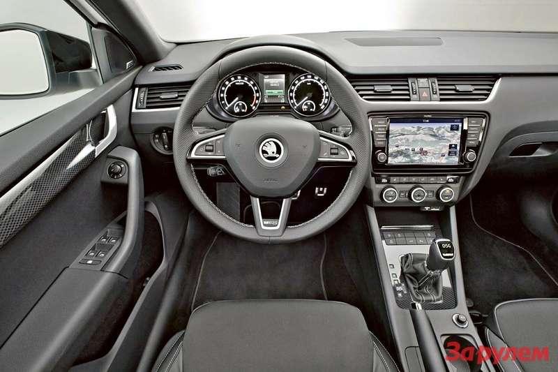 Octavia RS— Interior 002