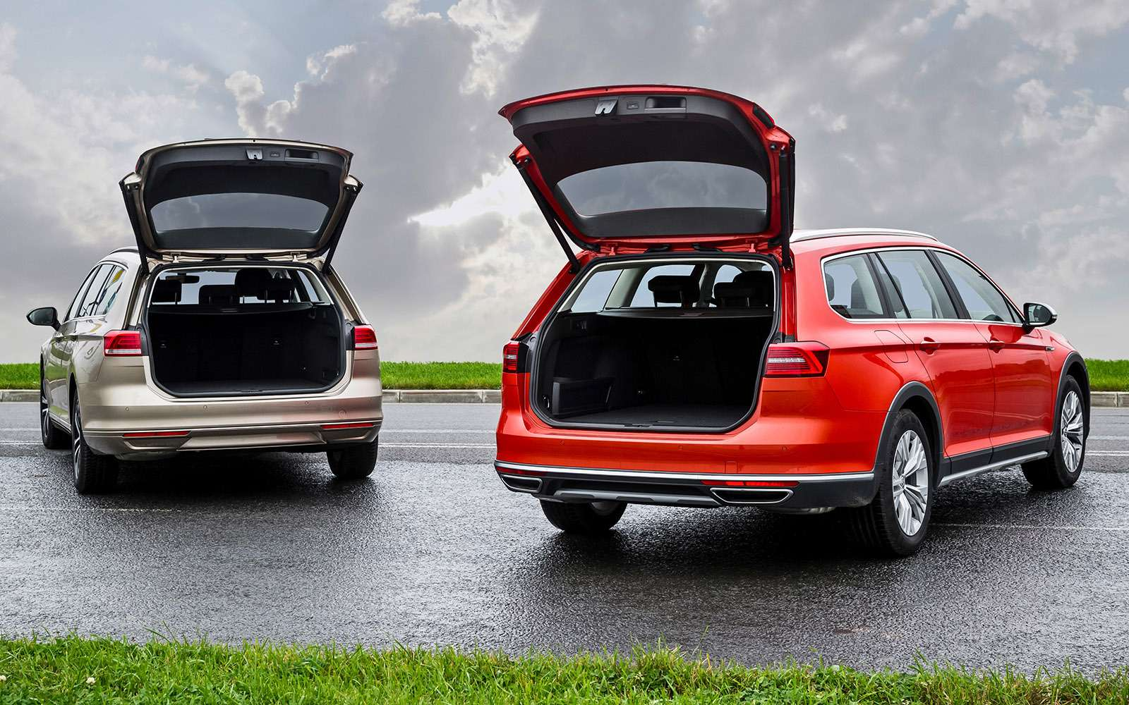 Volkswagen Passat Variant или Alltrack: зачто доплата?— фото 693500