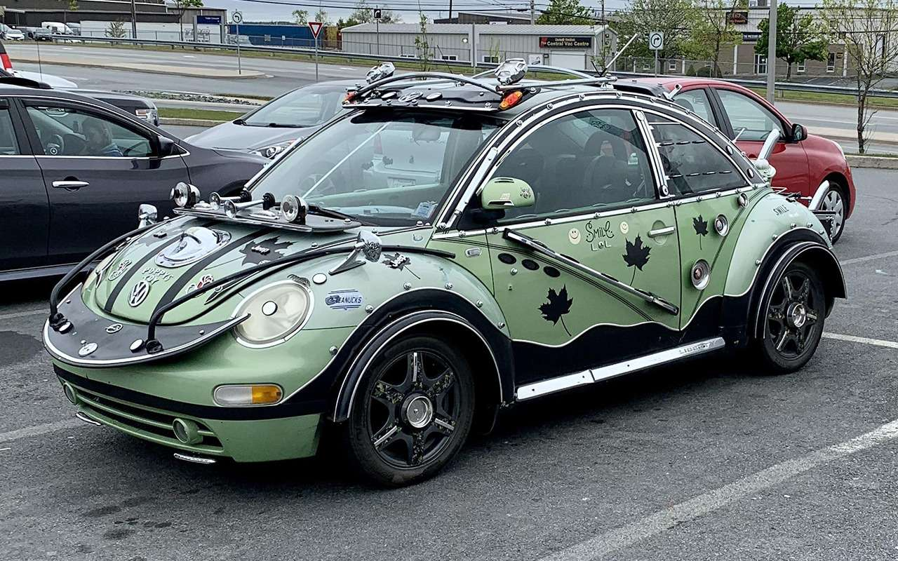 Как изуродовать свой VW Beetle: фотофакт