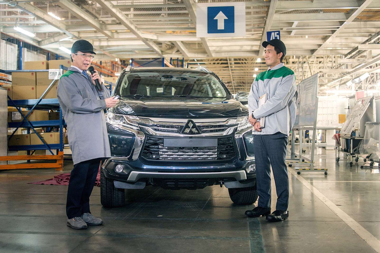Mitsubishi вернула Pajero Sport накалужский конвейер. Что будет сценами?— фото 826891
