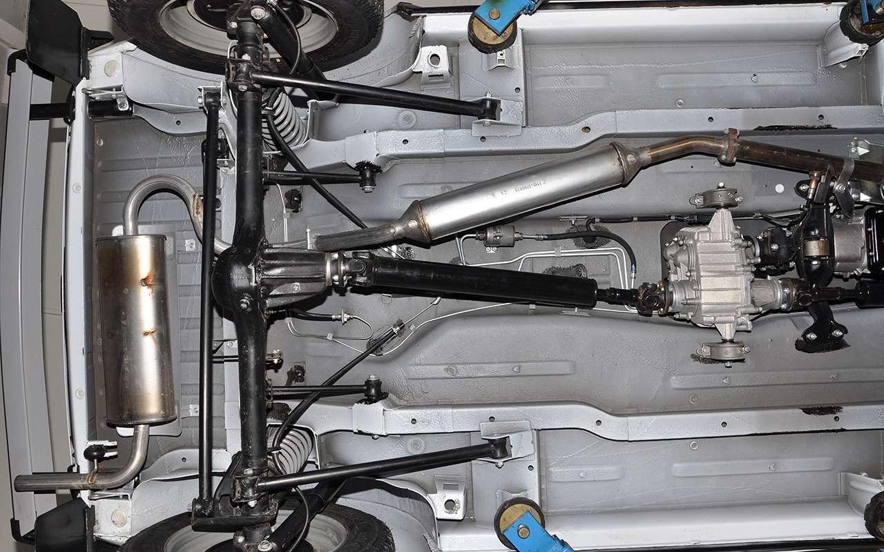 УАЗПатриот, Chevrolet Niva иЛада 4х4— кто круче?— фото 910367