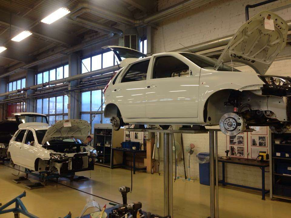 АВТОВАЗ приступил кпроизводству Lada Kalina NFR— фото 387922