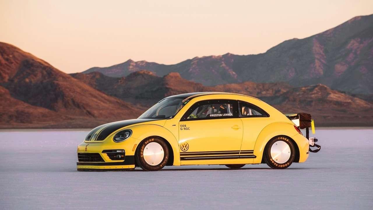 Скорость совкусом соли: самый быстрый Volkswagen Beetle вмире