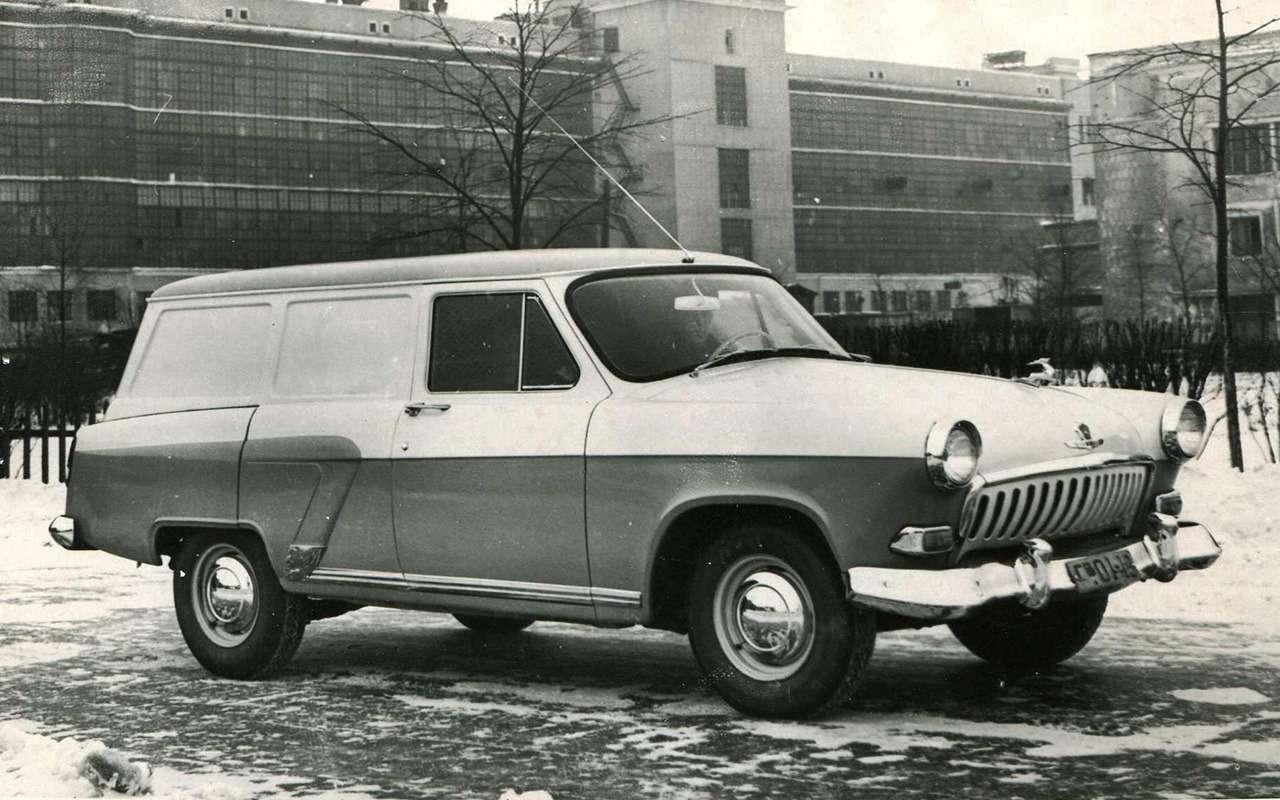 11модификаций Волги ГАЗ-21, которых какбы не было— фото 970882