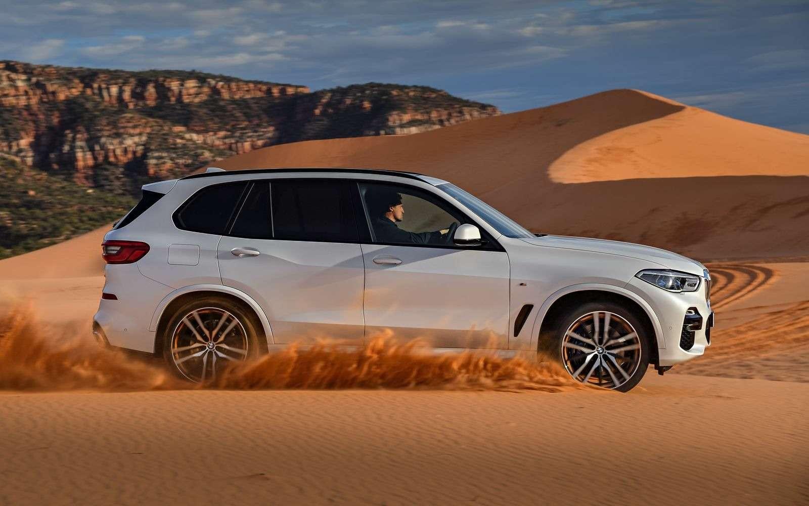 Новый BMW X5: приборная революция!— фото 876632