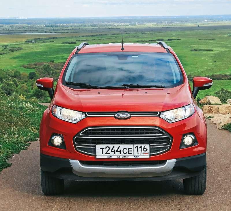 562de35deeae Ford EcoSport — первый тест-драйв — журнал За рулем