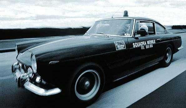 Полицейский Ferrari