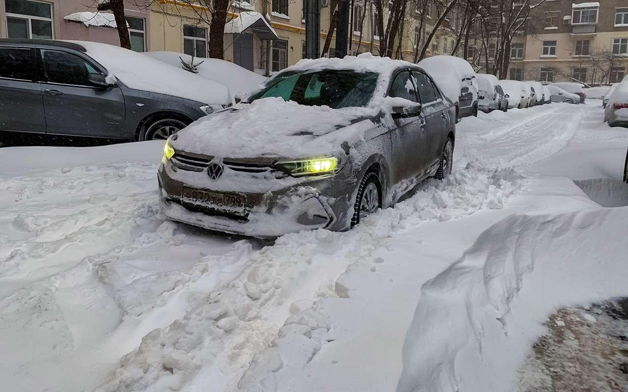 VWPolo 2020с турбо иDSG: итоги первой зимы— фото 1235998