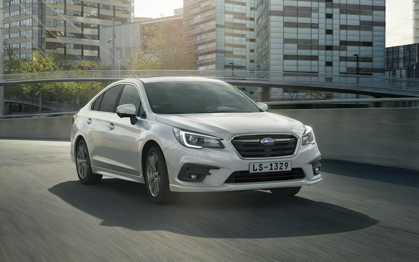 Subaru объявила российские цены наLegacy. Дорого, нокруто— фото 859079