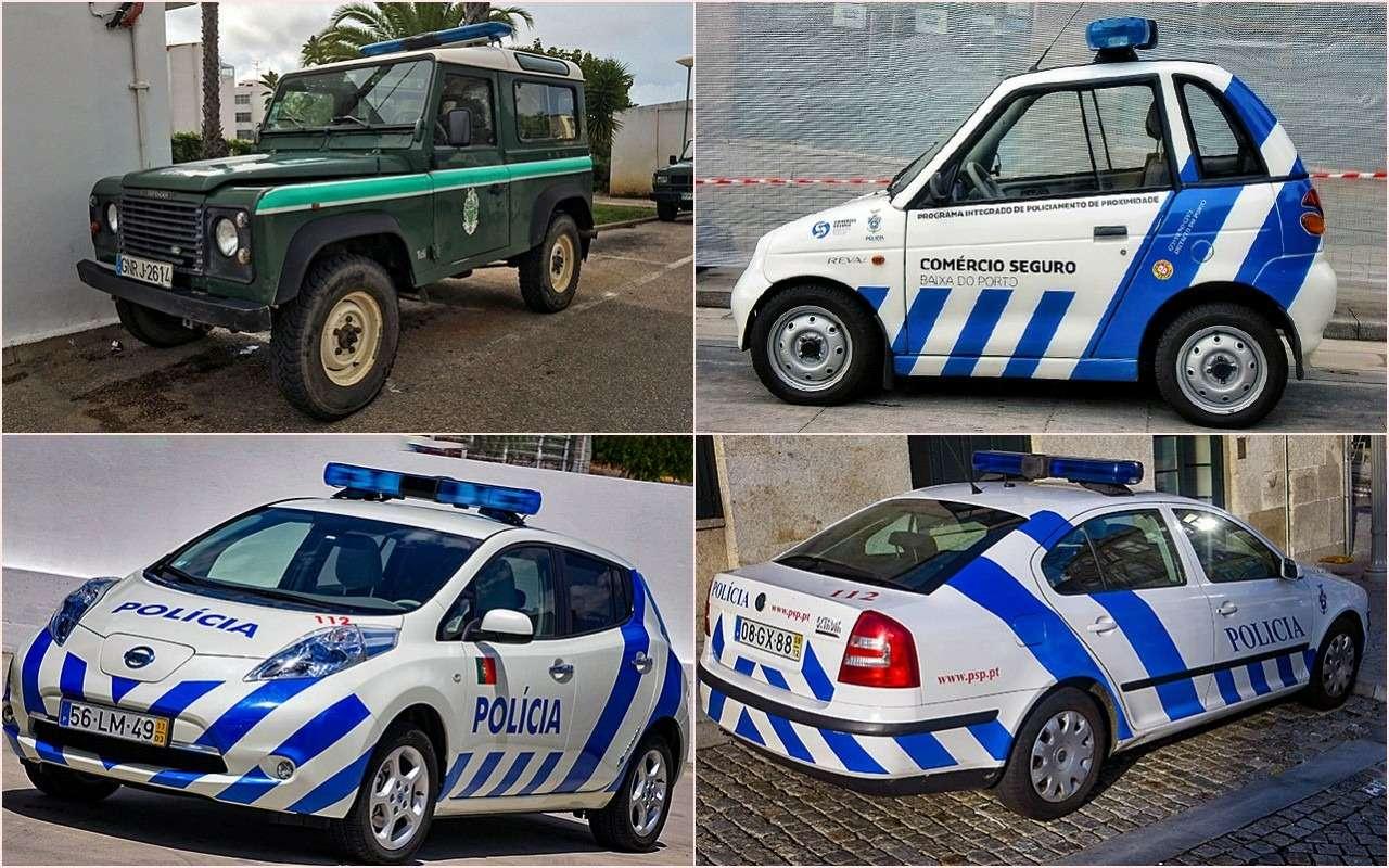 Выбор полиции: начем ездят копы разных стран— фото 785099