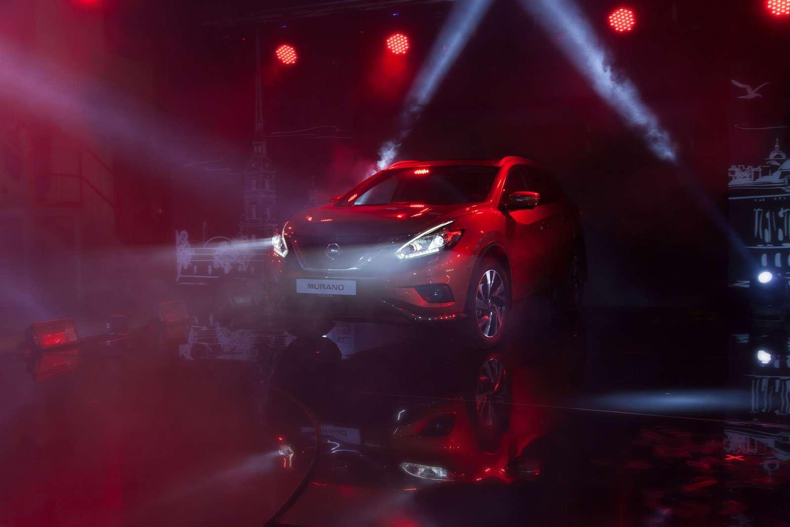 Новый Nissan Murano начали собирать вРоссии— фото 600802