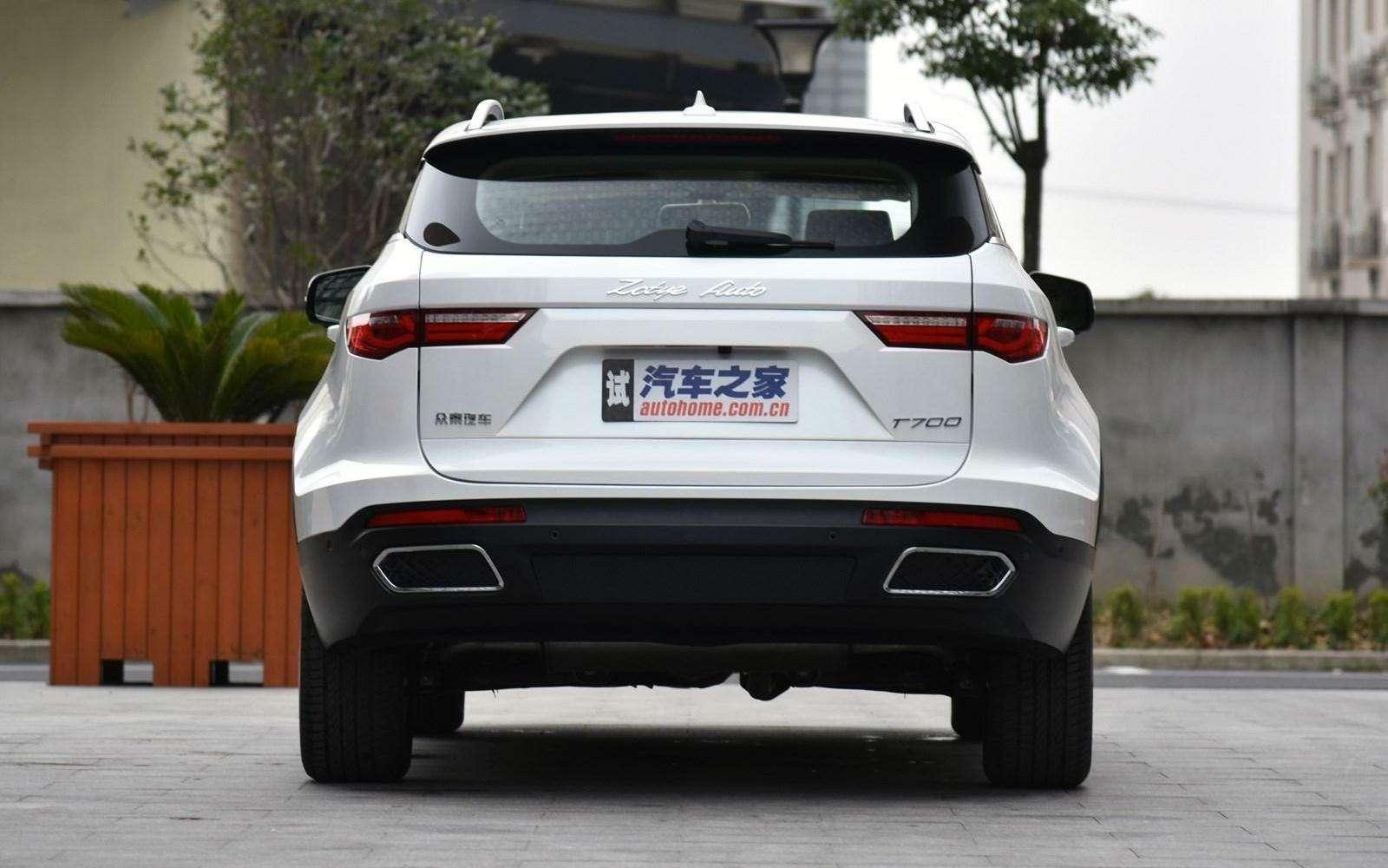 Jaguar иLand Rover водном флаконе: стартовало производство кроссовера Zotye T700— фото 727978