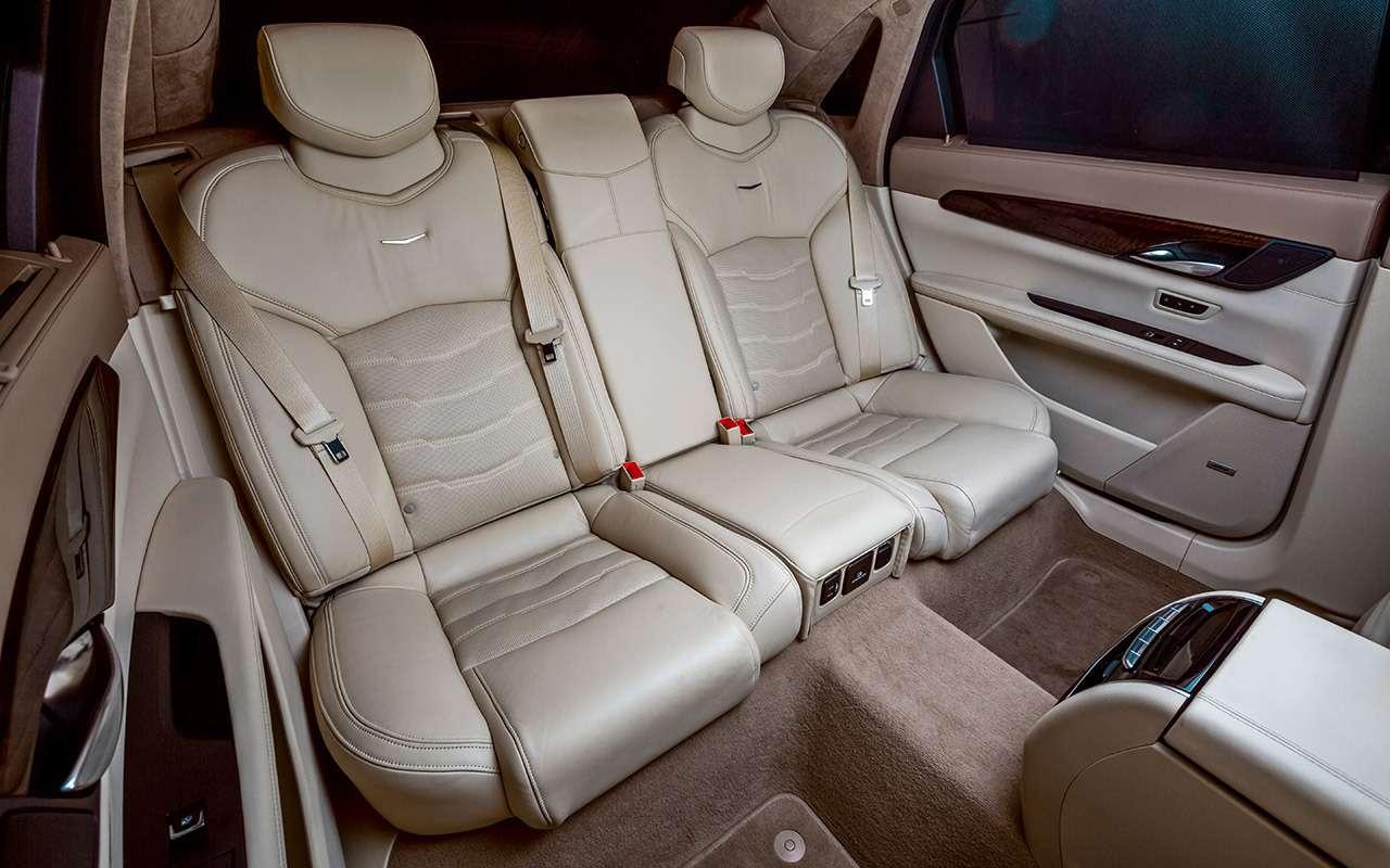 Cadillac CT6: тест-драйв соглядкой наТрампа— фото 867848