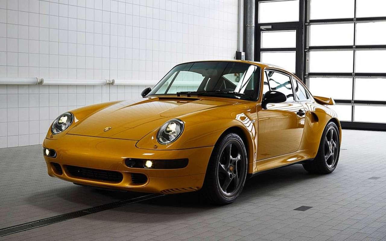Уникальный Porsche 911 Project Gold: его продали нааукционе за10минут!— фото 918865