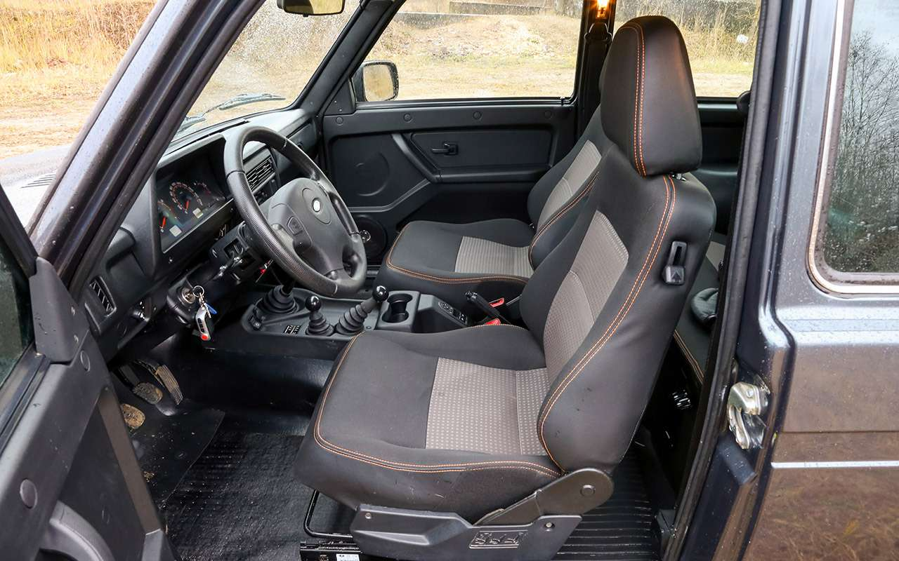 Тест-драйв легенд бездорожья: Lada 4x4, Suzuki Jimny, Jeep Wrangler— фото 1089441
