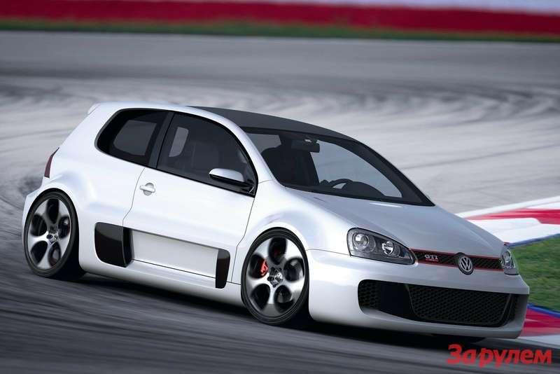 Volkswagen Golf GTI W12650 Concept 2007 1600x1200 wallpaper 04
