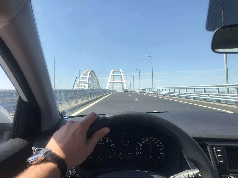 В Крым через мост наарендованном Hyundai Solaris— рассказ читателя ЗР— фото 899512