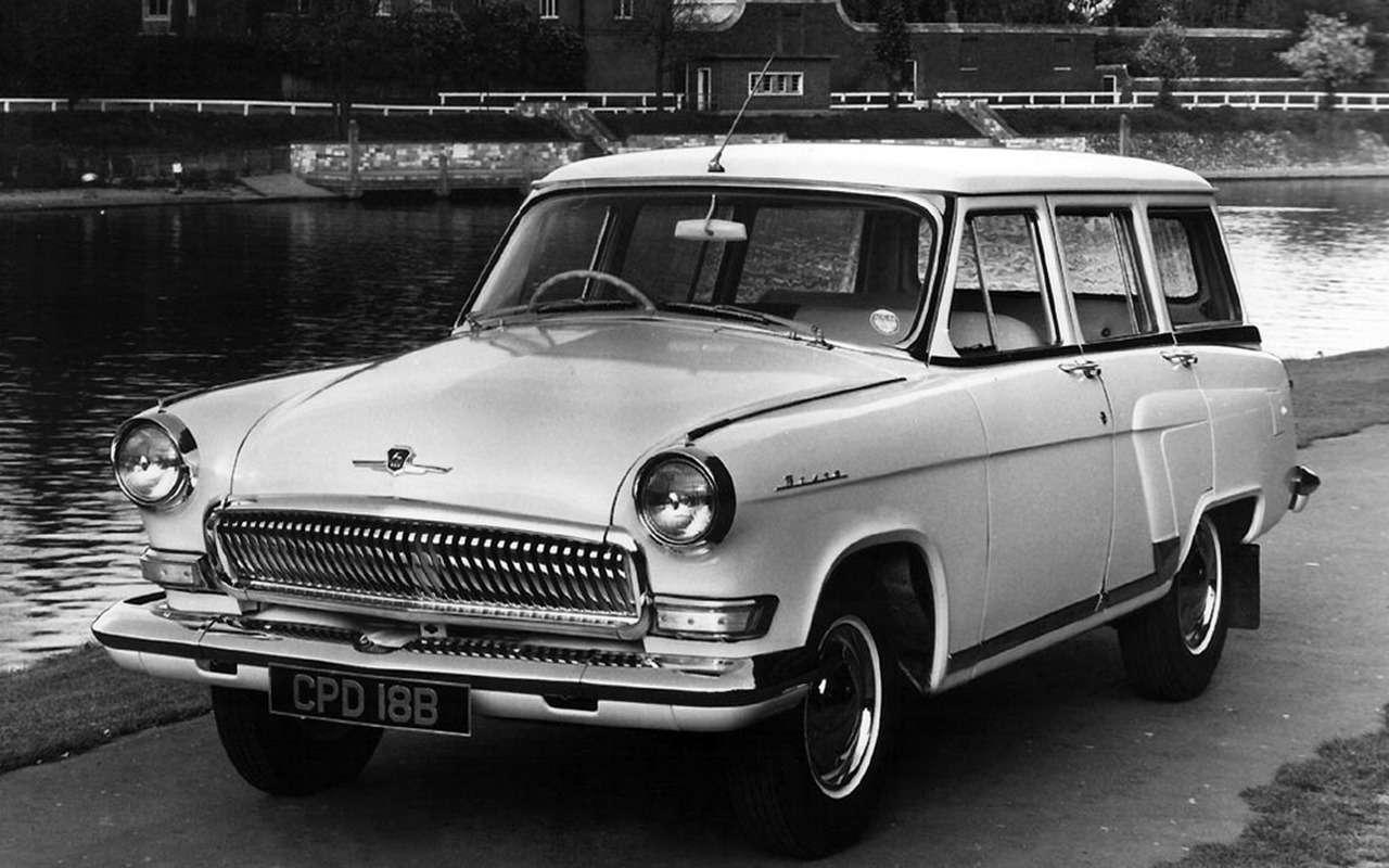 18советских автомобилей справым рулем— итакое было!— фото 980924
