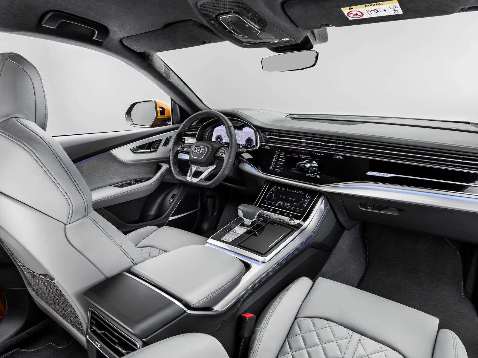 Встречаем Audi Q8: хай-тек плюс ностальгия по80-м— фото 876435
