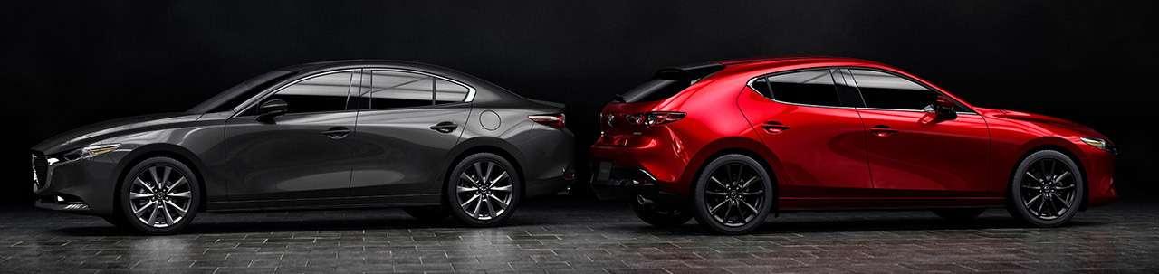 Новая Mazda 3: как японцы скрестили бензиновый мотор сдизельным— фото 934470
