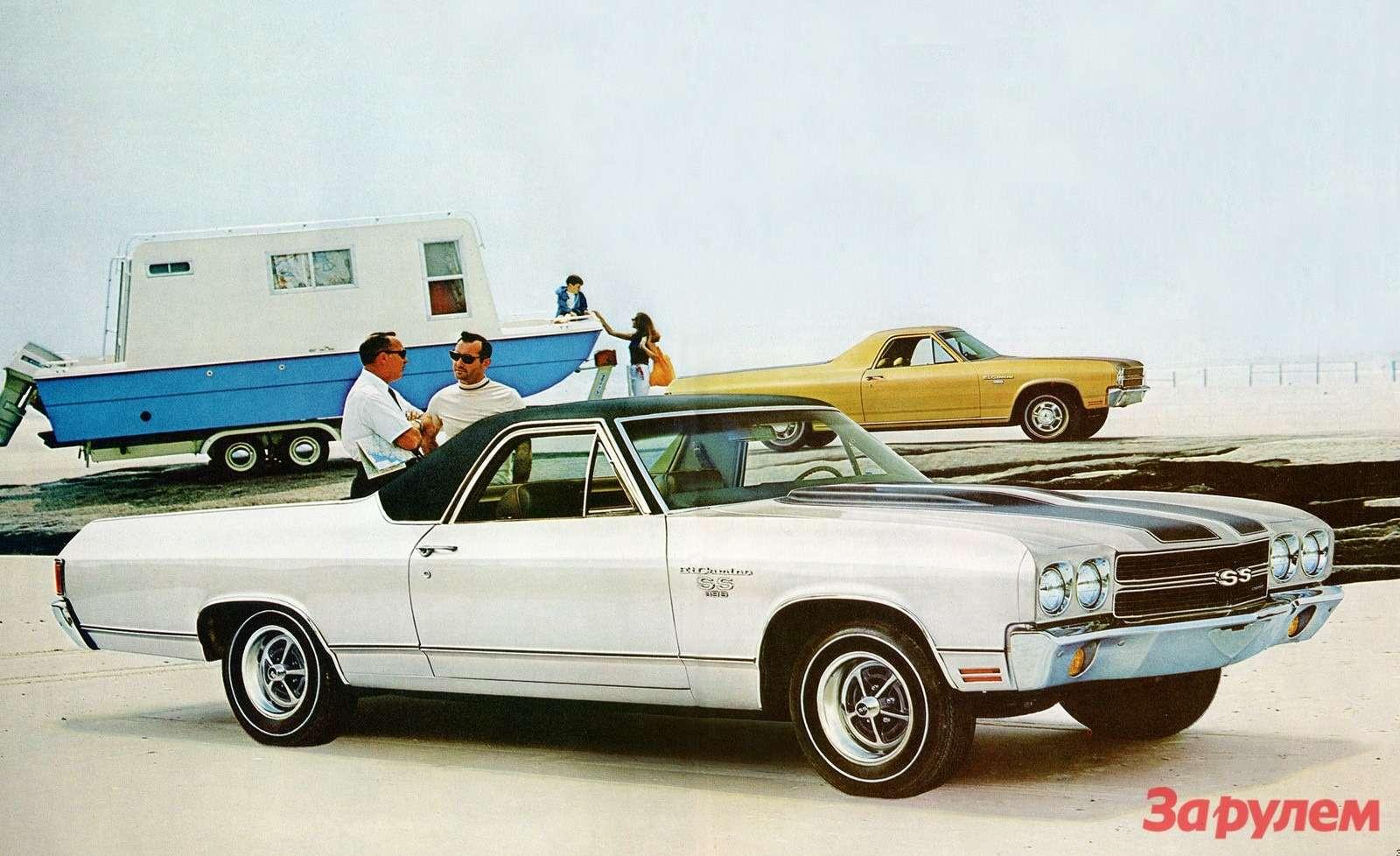 1970 Chevrolet ElCamino SS