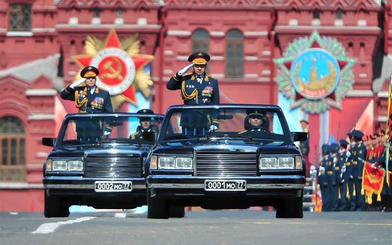 Главный автомобиль Парада Победы: кабриолет Шойгу— фото 864394