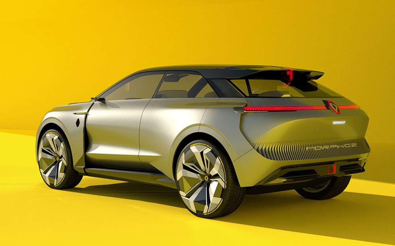 Трансформер Morphoz— концепт Renault длягорода итрассы— фото 1089032